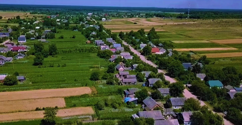 Краса волинського села з пташиного польоту. ВІДЕО