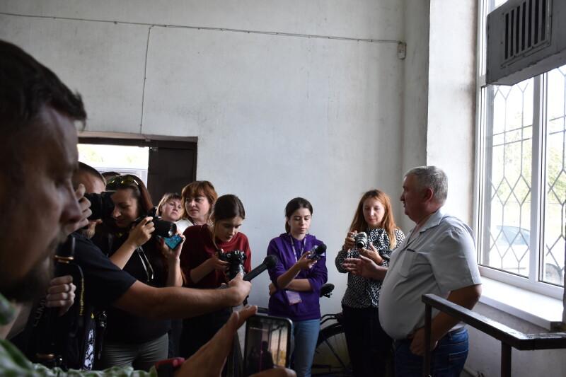 Лучани ознайомились із станом каналізаційних мереж і очисних станцій КП «Луцькводоканал»