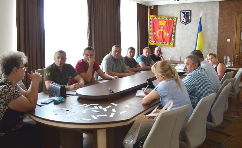 У місті на Волині учасники бойових дій вибрали земельні ділянки для житлового будівництва