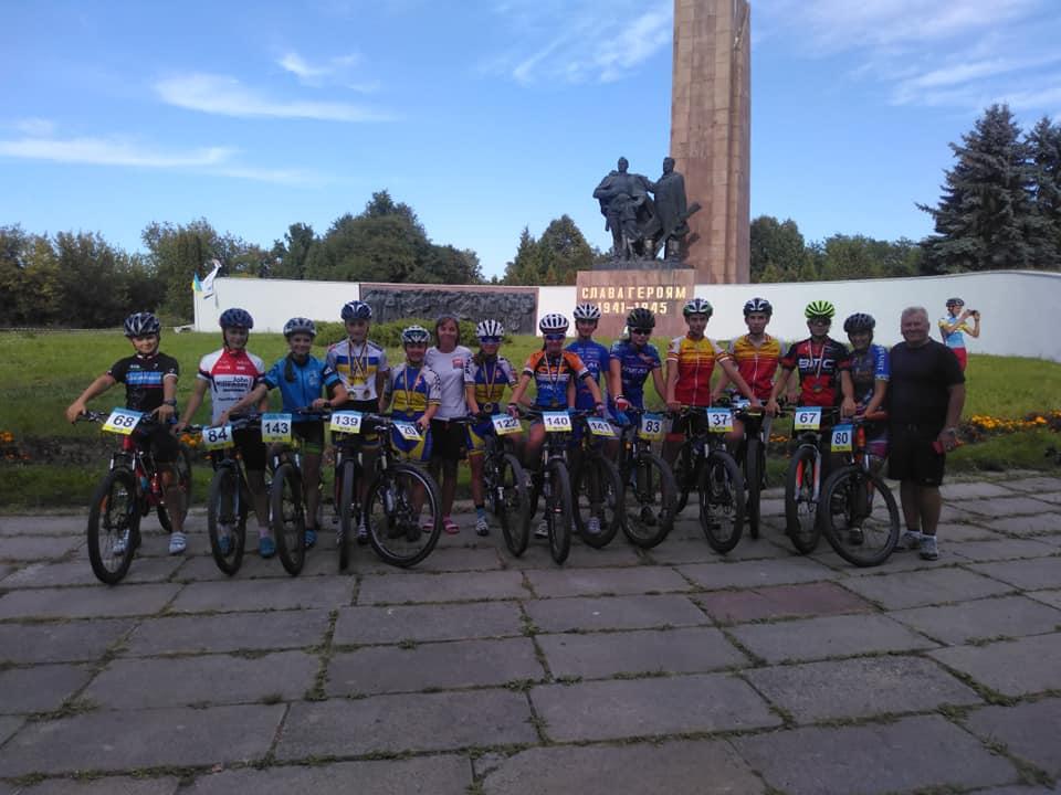 Волинські велосипедисти здобули чимало перемог на чемпіонаті України із велоспорту. ФОТО