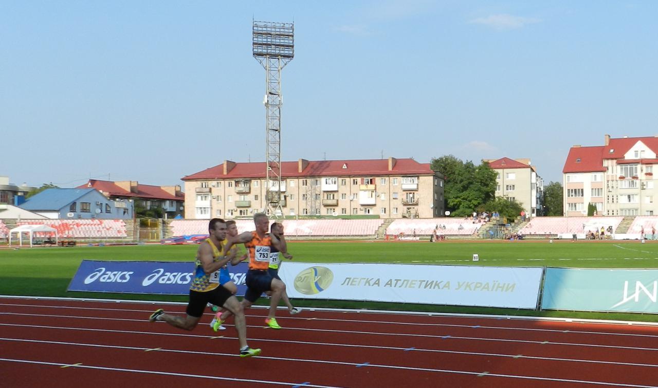 Як у Луцьку минув третій день чемпіонату України з легкої атлетики