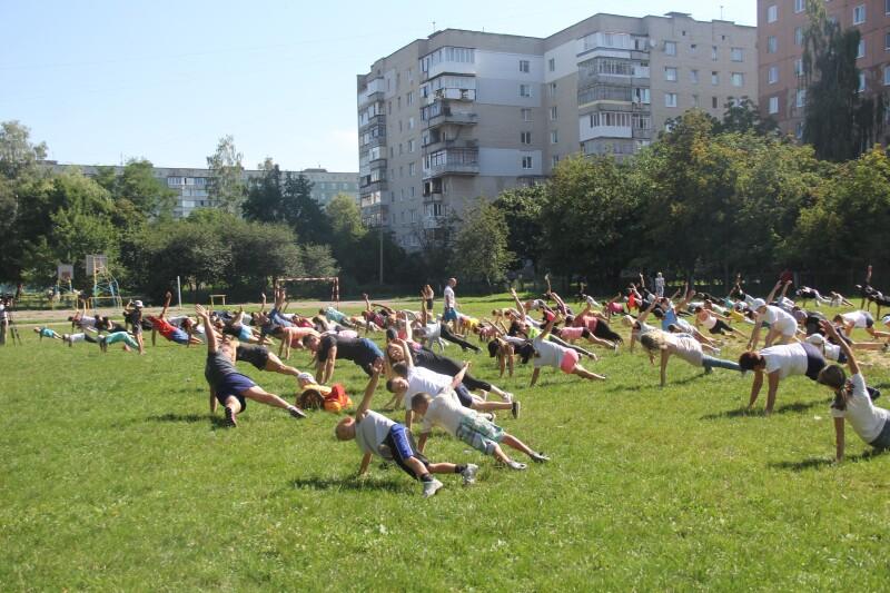 У Луцьку відсвяткують річницю «Ранкової гімнастики для всіх»