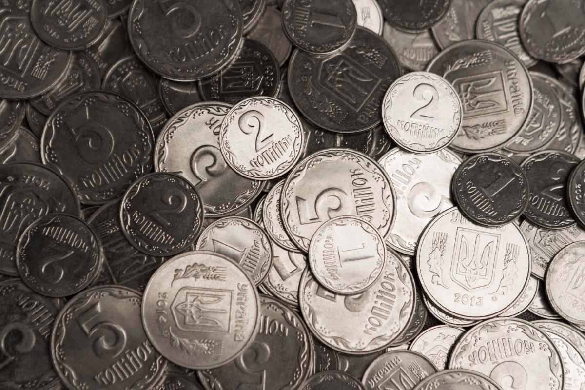 З 1 жовтня монети 1, 2 та 5 копійок не прийматимуть під час розрахунків