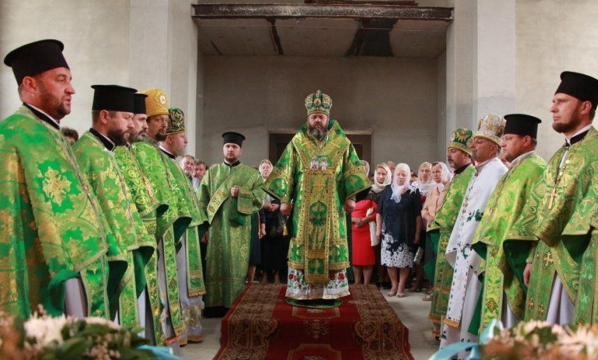 Митрополит Михаїл очолив празник луцького храму. ВІДЕО