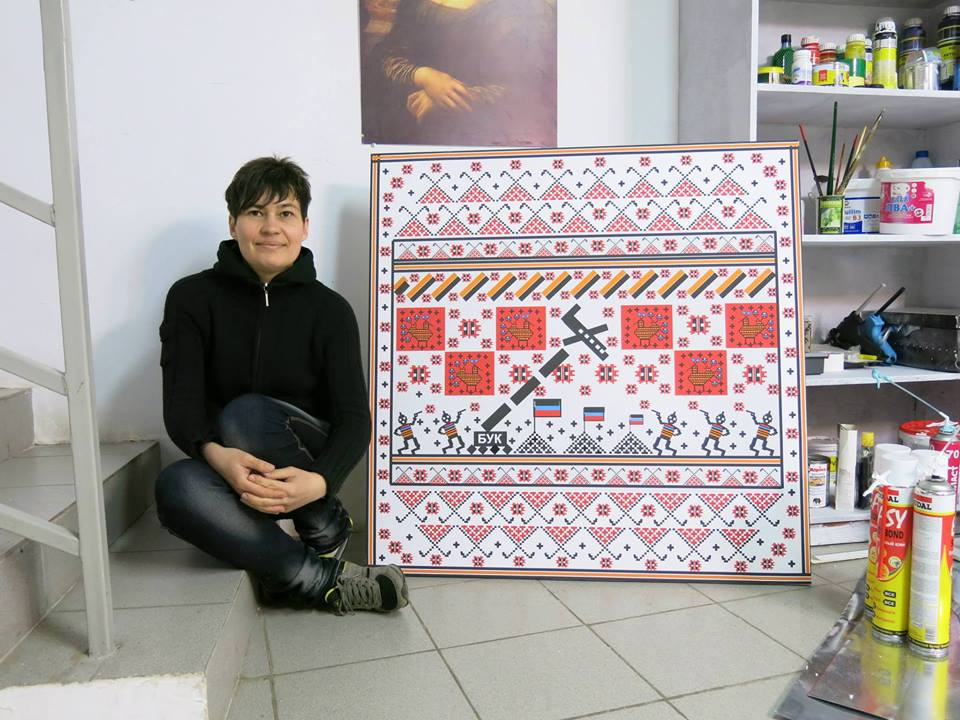 У Луцьку відбудеться презентація проекту харківської художниці