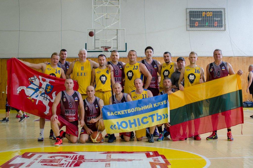 Луцькі ветерани тріумфували в міжнародному баскетбольному турнірі