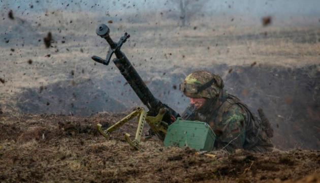 На Донбасі окупанти 24 рази порушили режим припинення вогню