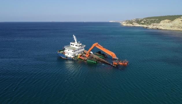 Біля берегів Туреччини тоне корабель. ФОТО