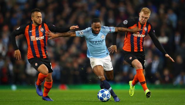 Букмекери дали прогноз на матч «Шахтар» — «Манчестер Сіті»
