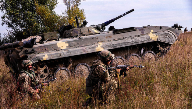 Захисників Новолуганського обстріляли з 82-мм мінометів