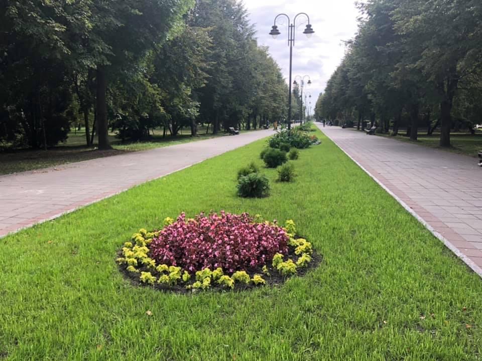 У луцькому парку йдуть останні приготування до Дня міста. ФОТО