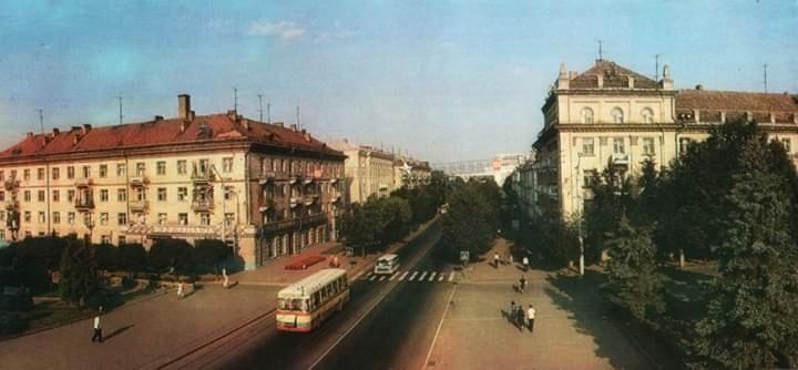 Лучанам показали, як виглядало місто 39 років тому