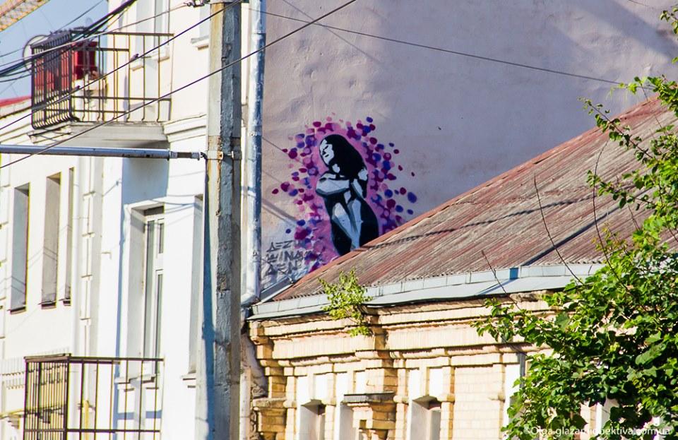 Луцькі мурали, чи як розмальовують стіни у місті. ФОТО