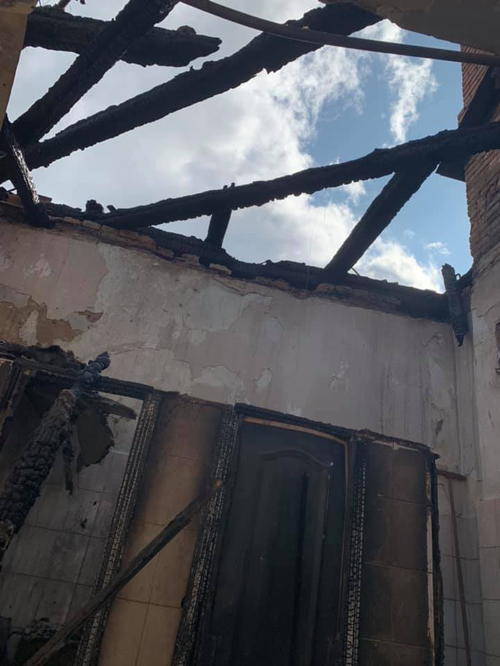У якому стані госпіталь у центрі Луцька після пожежі. ФОТО