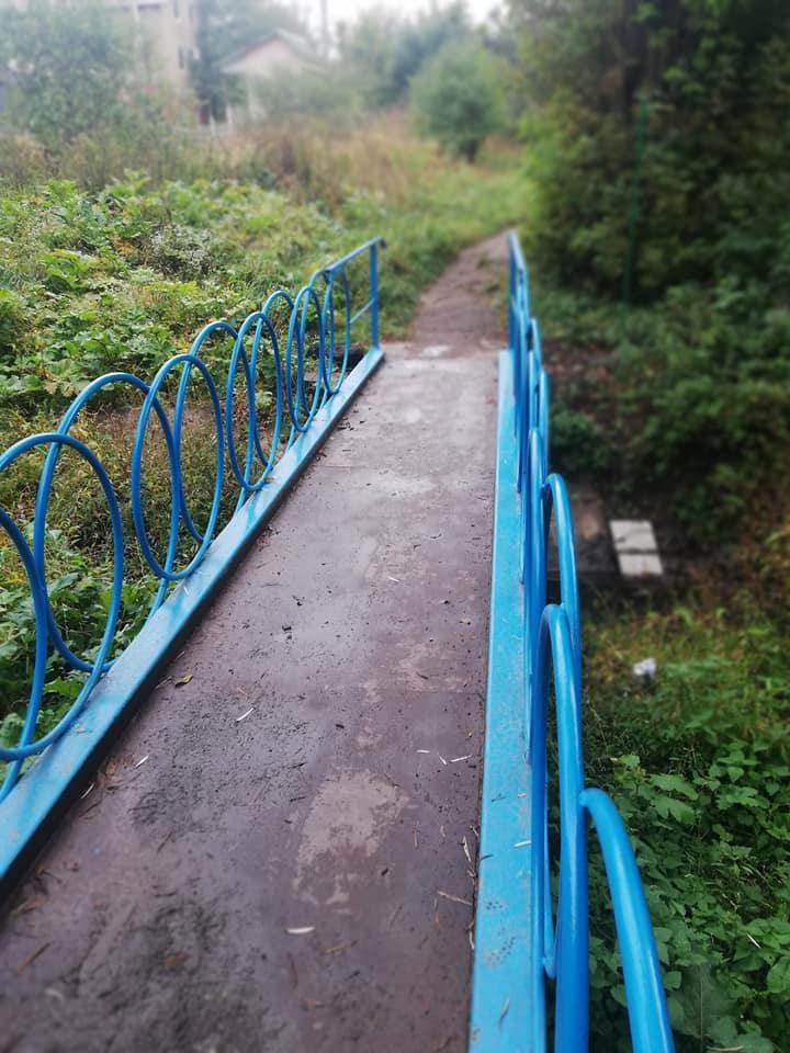 У Луцьку відновили міст через річку. ФОТО