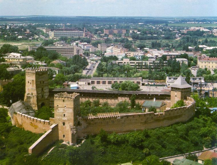 Лучанам показали, яким зеленим було місто понад 40 років тому