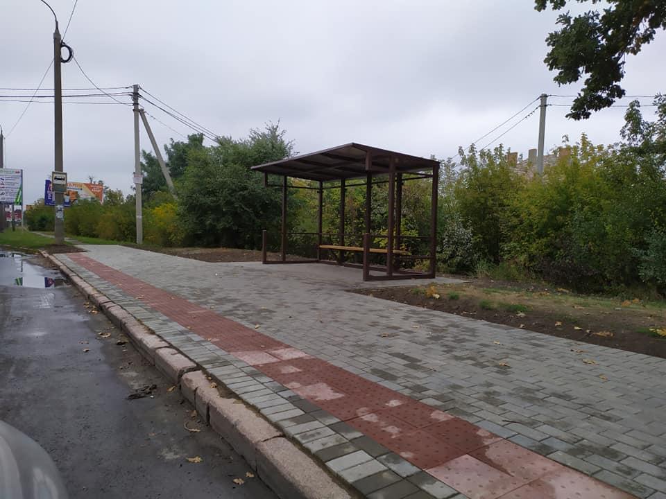 У Луцьку відновили зупинку громадського транспорту. ФОТО