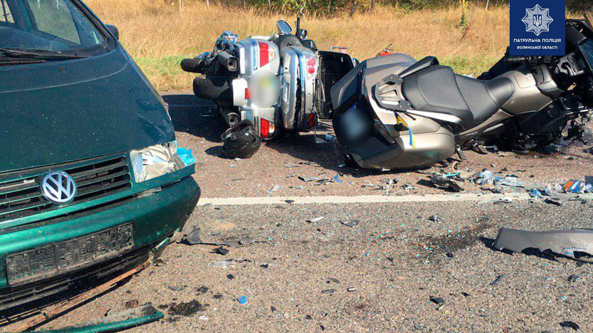 На трасі «Київ-Ковель-Ягодин» сталася смертельна аварія