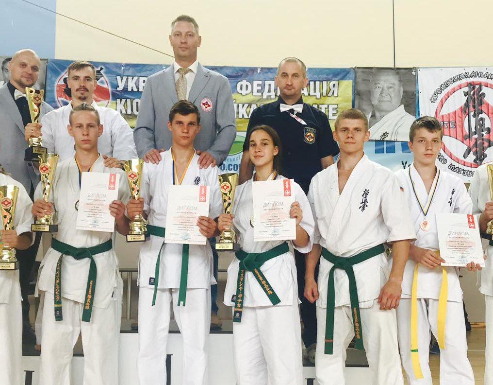 Волиняни здобули нагороди на чемпіонаті України з кіокушинкайкан карате