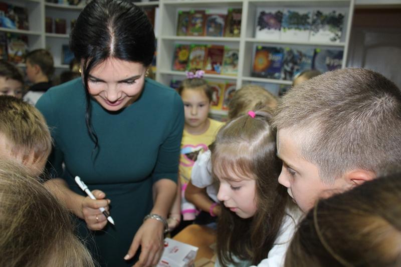 У Волинській обласній бібліотеці для дітей відбулася зустріч з Мариною Павленко. ФОТО