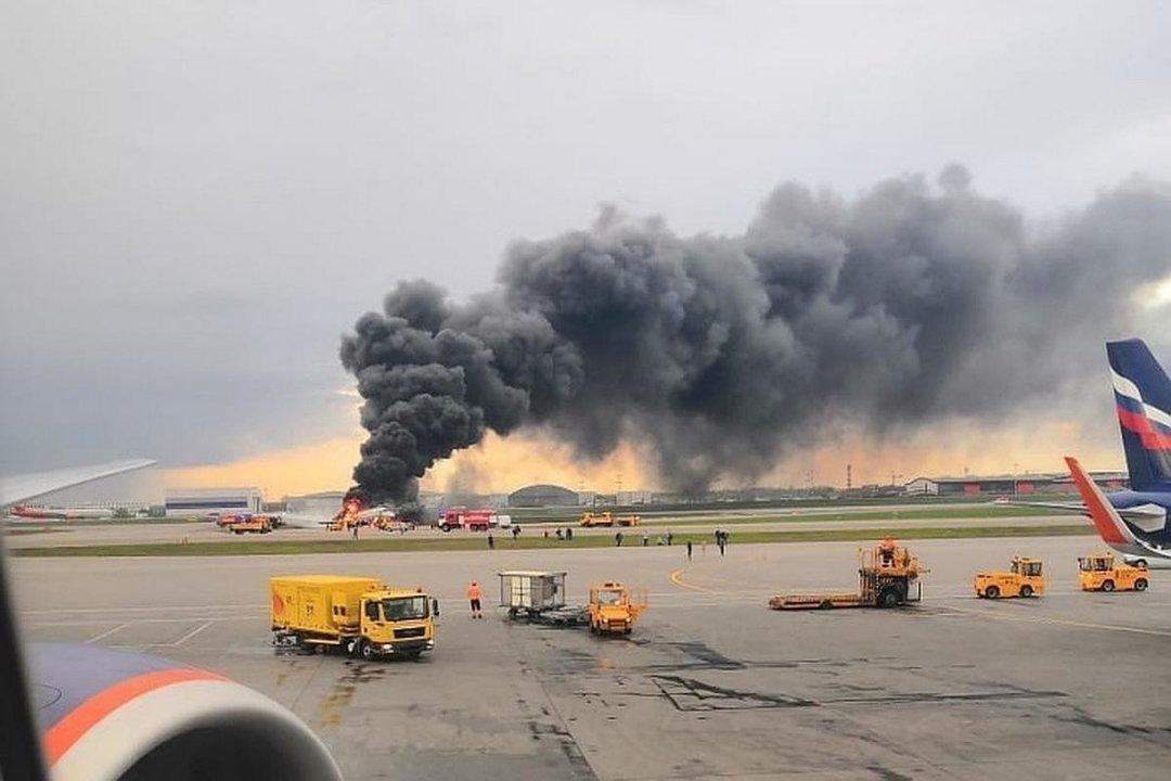 У Росії розбився військовий літак