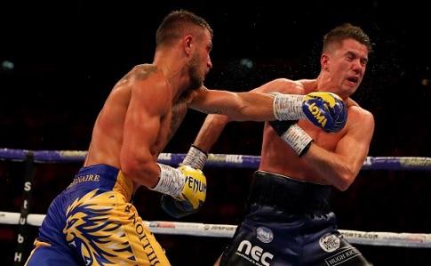 Боксер Василь Ломаченко здолав британського боксера Люка Кемпбелла у бою за титул чемпіона світу