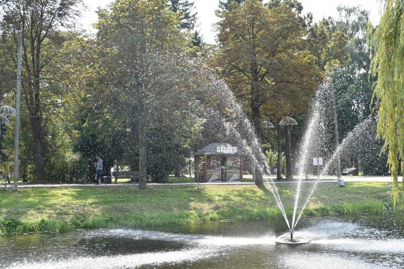 Луцький парк гостинно зустріне лучан на День міста