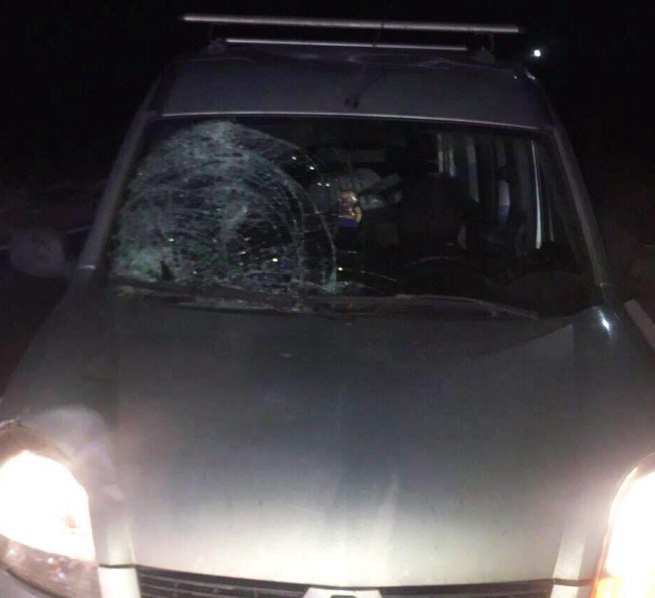На Волині автомобіль «Renault Kangoo» збив пішохода