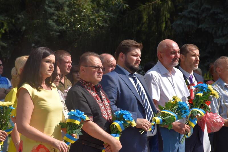 У Луцьку вшанували пам'ять загиблих у Другій світовій війні. ФОТО