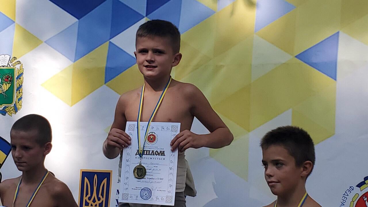 Волинянин переміг на чемпіонаті України з боротьби сумо