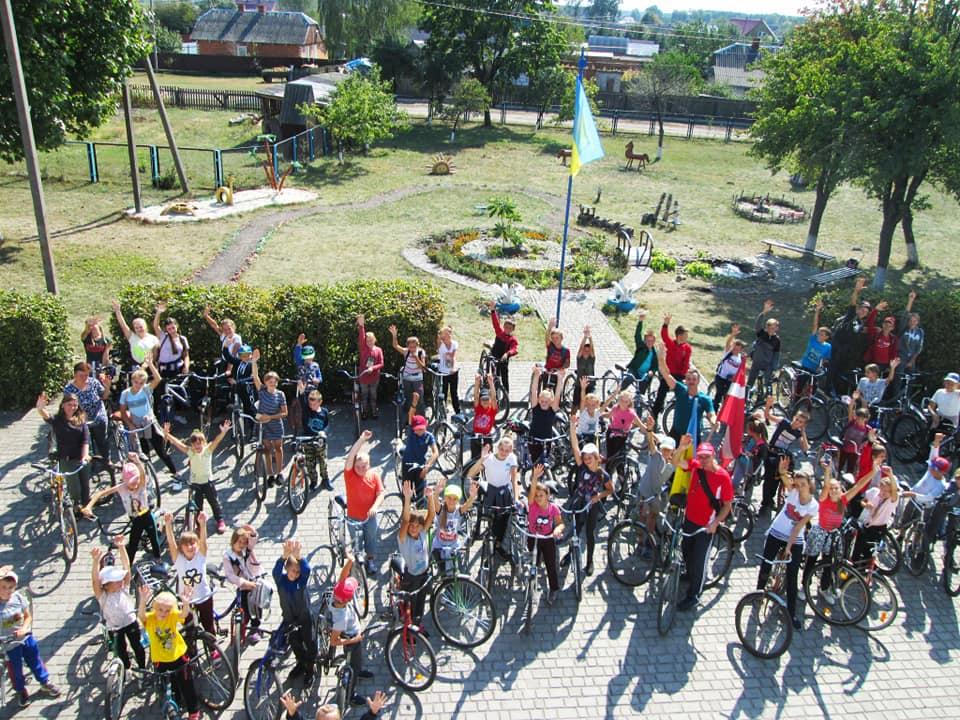 У селі на Волині організували велопробіг. ФОТО