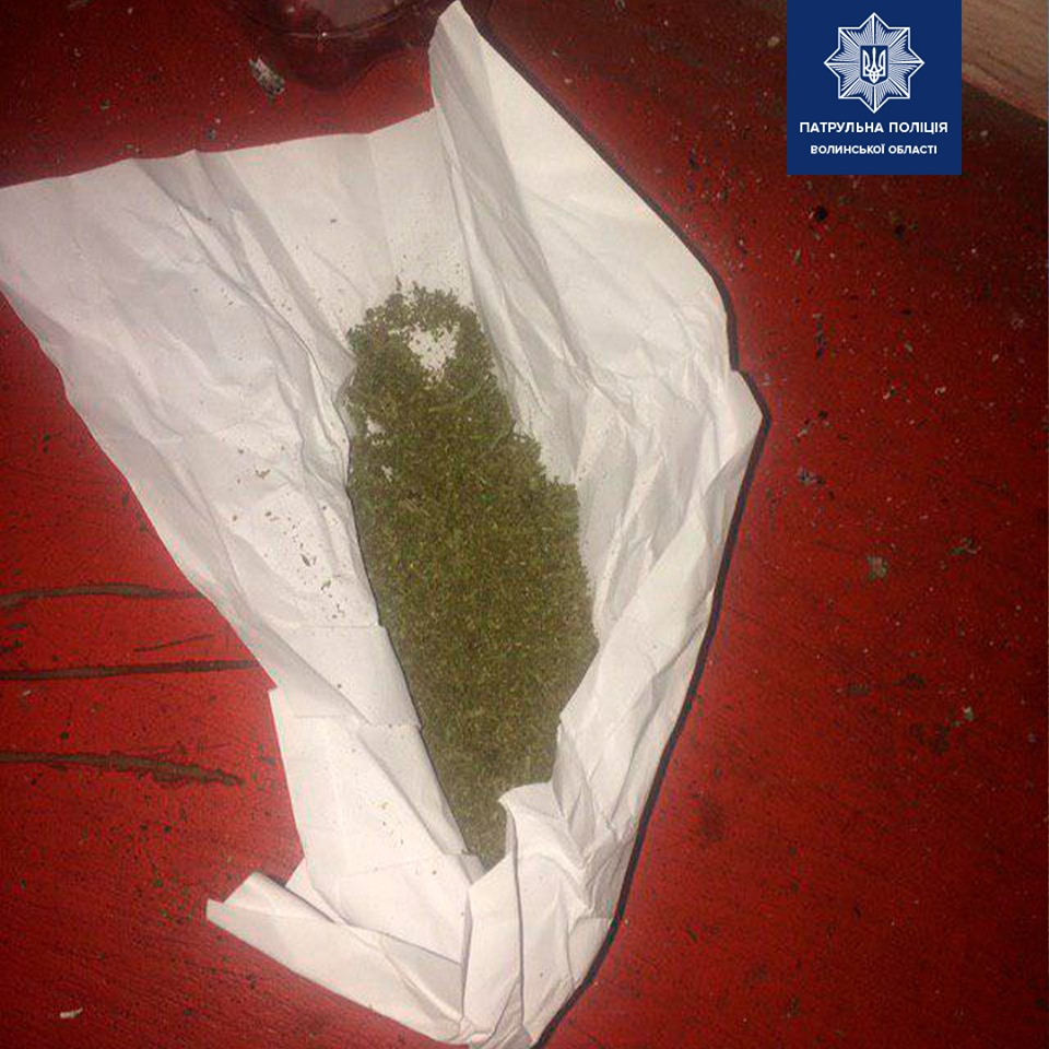 У Луцьку вгамували чотирьох розбишак з наркотиками