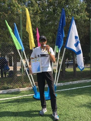 Луцький рятувальник виборов срібло на змаганнях з легкоатлетичного кросу