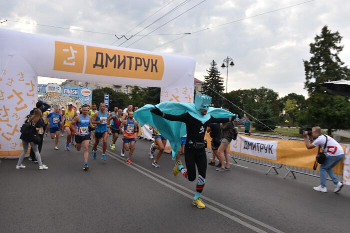 Лучани взяли участь у «Dmytruk Luchesk Half Marathon»