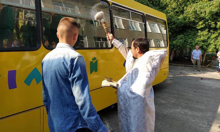 Громада на Волині отримала новий шкільний автобус