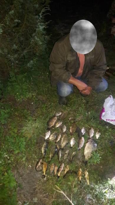 У серпні рибоохоронний патруль Волині вилучив 105 одиниць заборонених знарядь лову