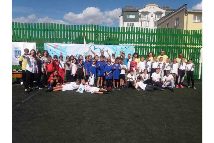 У гімназії Луцька організували олімпійський урок