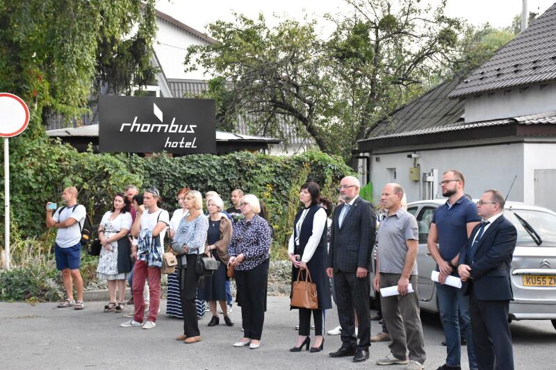 У Луцьку вшанували пам'ять жертв розстрілу луцького гетто. ФОТО