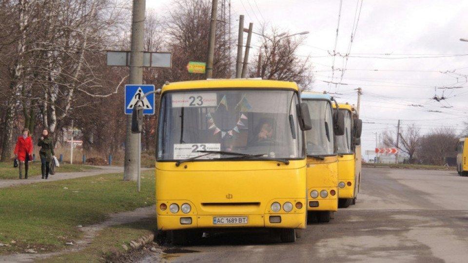 У Луцьку визначили тимчасового перевізника на маршрут № 23