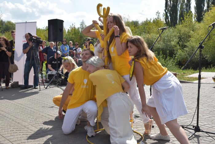 У Луцьку розпочався шостий фестиваль «Мандрівний вішак». ФОТО