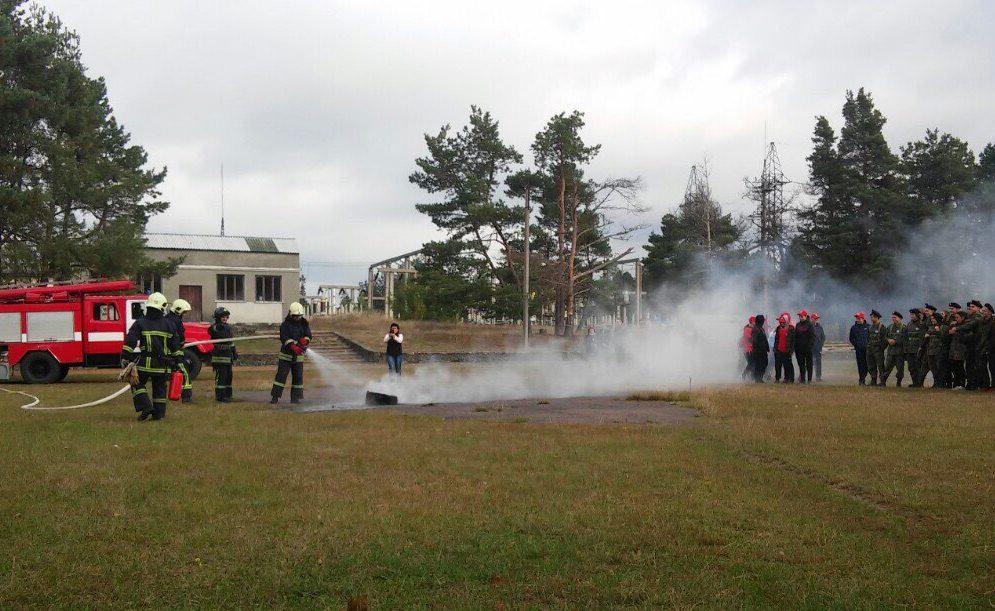 На Волині рятувальники долучилися до змагань «Сокіл». ФОТО