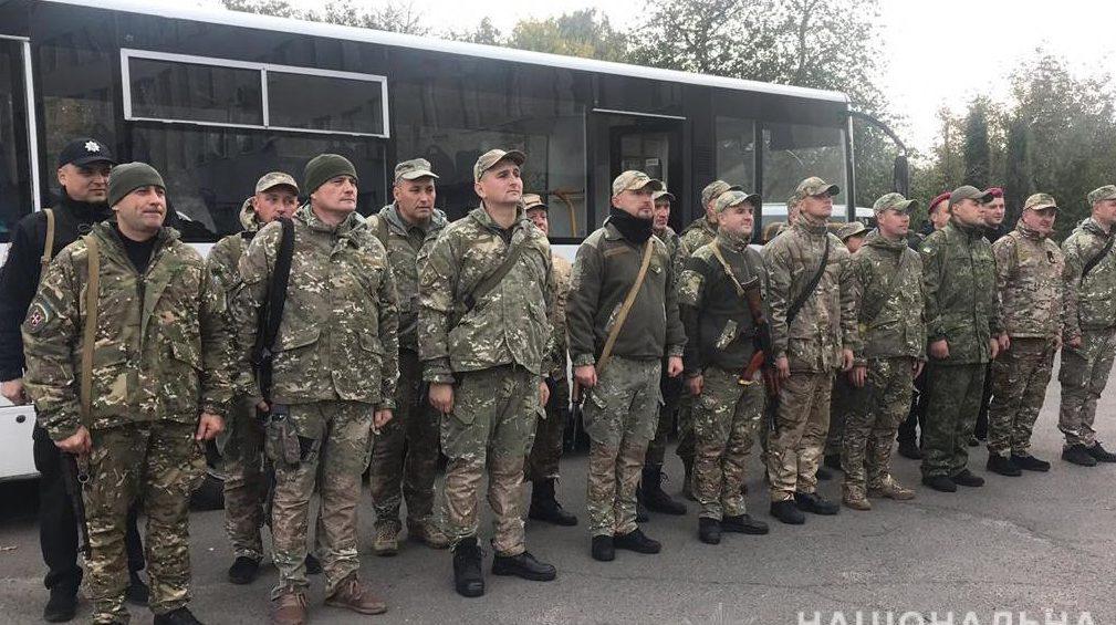 Бійці спецпідрозділу «Світязь» вирушили в зону проведення ООС. ФОТО