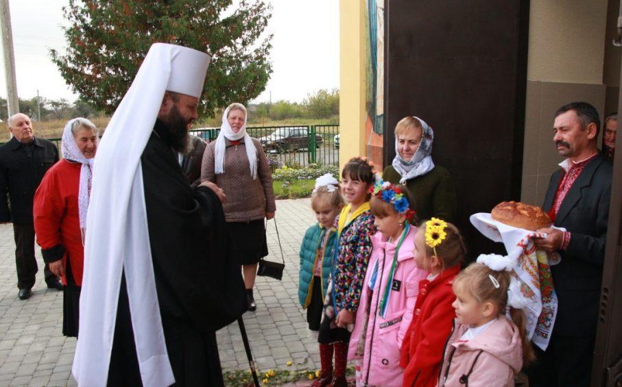 Митрополит Михаїл відвідав громаду, яка перейшла в ПЦУ. ФОТО. ВІДЕО