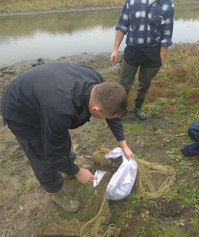 На Волині спіймали незаконних рибалок