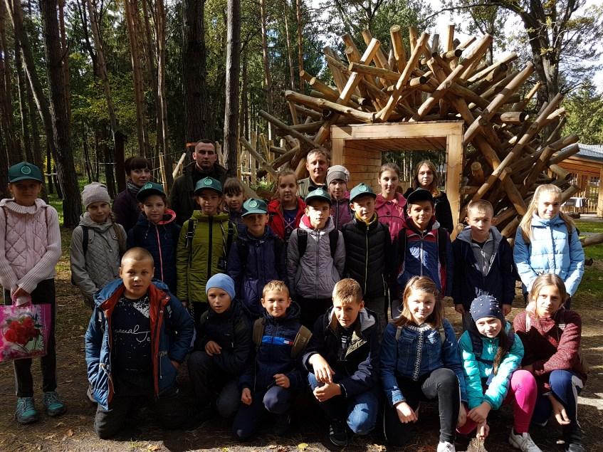 Юні волиняни провели пізнавальну прогулянку лісом. ФОТО