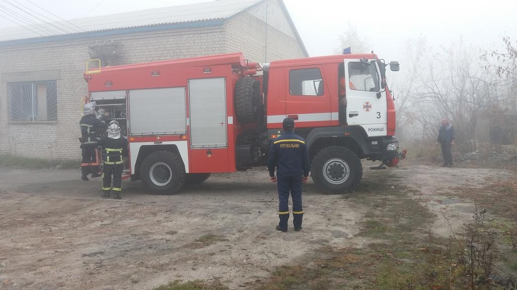 Рятувальники на Волині провели навчання на об'єктах охорони здоров'я. ФОТО