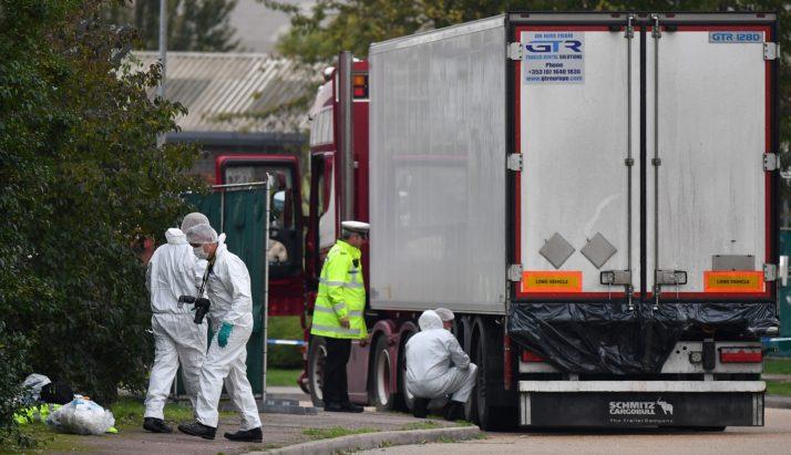 У Британії заарештували водія вантажівки, в якій знайшли понад 30 тіл