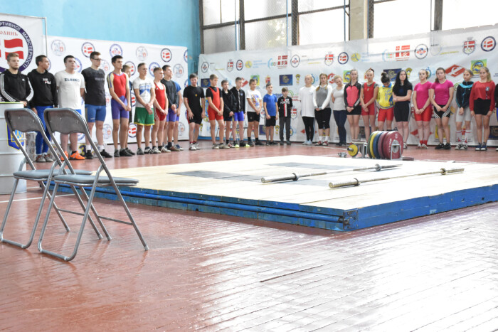 У Луцьку відбувся відкритий турнір з важкої атлетики серед молоді. ФОТО