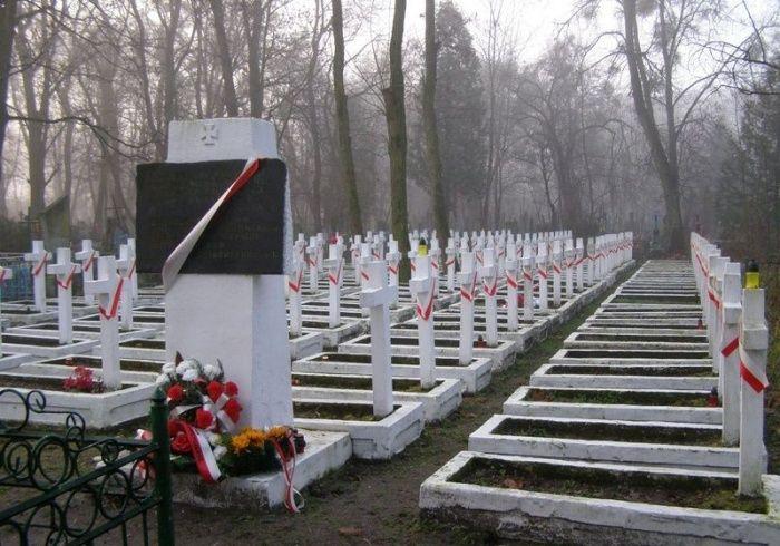 На волинському кладовищі викрали надгробні таблички з польських поховань