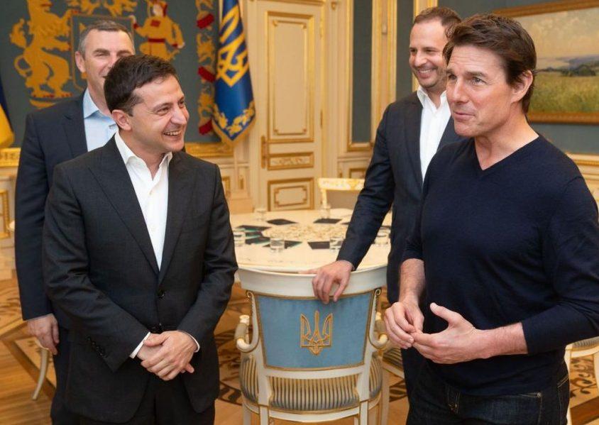 Зеленський у Києві зустрівся з Томом Крузом. ФОТО